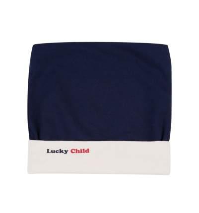 Шапочка Lucky child Умка синяя 32-9 р. 45