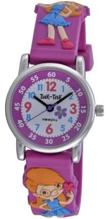 Детские наручные часы Тик-Так Н101-2 девочка с цветами