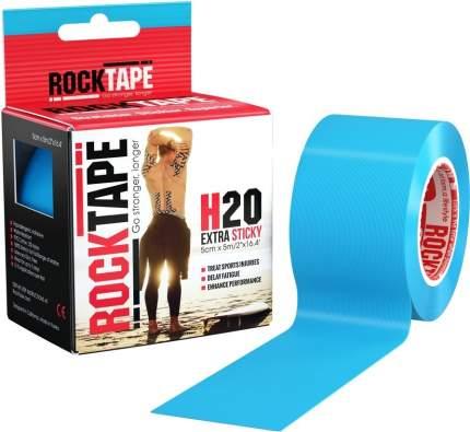Кинезиотейп Rock Tape H2O голубой