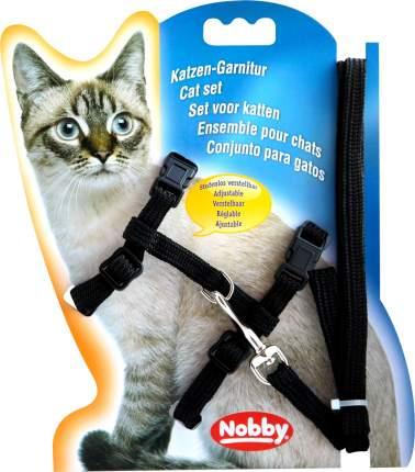 Шлейка для кошек Nobby (цвет: черный)