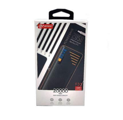 Внешний аккумулятор NoName FANTESI F33 20000 мА/ч (34634380) Black