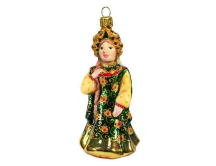 Елочная игрушка Ариель Царевна в изумрудном сарафане 786.1-ариель 12 см 1 шт.