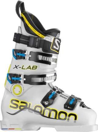 Горнолыжные ботинки Salomon X Lab Soft 2014, белые/желтые/черные, 27.5