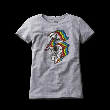 Женская футболка с рисунком Астронаутилус (S)