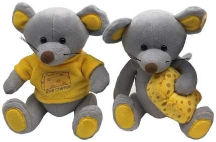 Мягкая игрушка FluffyFamily Мышь Сырник 681631