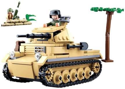 Конструктор пластиковый Sluban Военный танк M38B0691