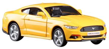 UNI-FORTUNE Машина инерционная Ford 2015 Mustang, желтая 554029-YL