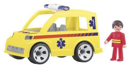 Машина скорой помощи с водителем