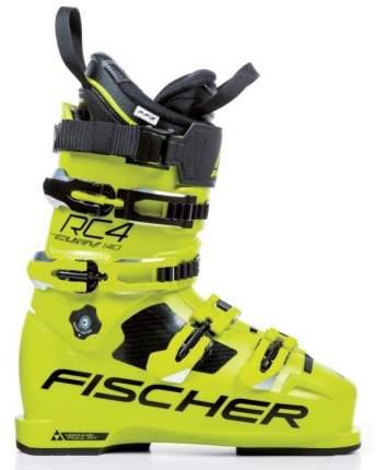Горнолыжные ботинки Fischer RC4 Curv 140 Vacuum Full Fit 2019, yellow, 25.5