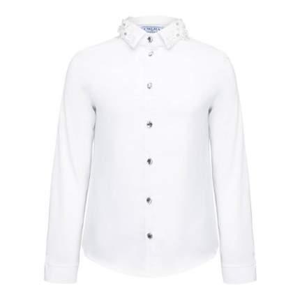 Блузка SMENA, цв. белый, 128 р-р