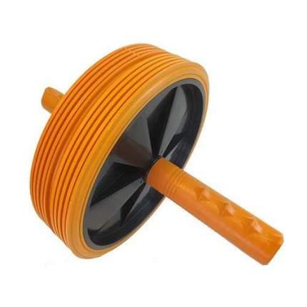 Ролик для пресса двойной 51144 black/orange