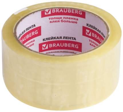 Клейкие ленты Brauberg 48 мм х 60 м, Прозрачный