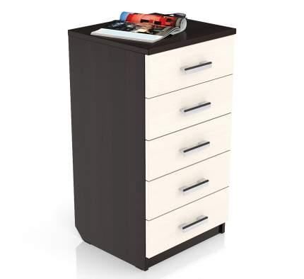 Комод Мебельный Двор К-8 49х45х90 см, венге