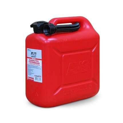 Канистра AVS A78362S TPK-10 топливная пластиковая красная 10 л
