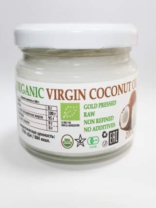 Кокосовое масло Organica United Group из желтых королевских кокосов 200 мл