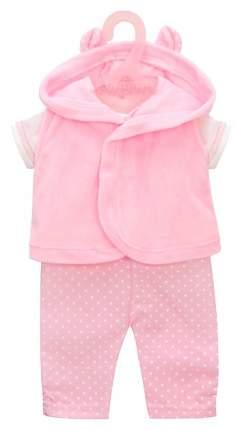 """Одежда для куклы 38-43см Костюм с жилеткой """"Зайка"""""""