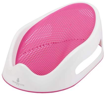 Горка для купания силиконовая sima-land цвет розовый
