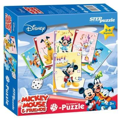 Настольная игра Step Puzzle Микки Маус. Кубик