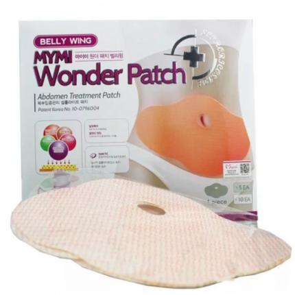 Пластырь для похудения на живот Mymi Wonder Patch (Бежевый)