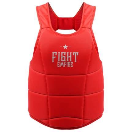 Жилет защитный FIGHT EMPIRE, размер S, цвет красный FIGHT EMPIRE