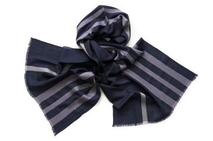 Шарф мужской шерсти и шелка Tranini  01278 синий