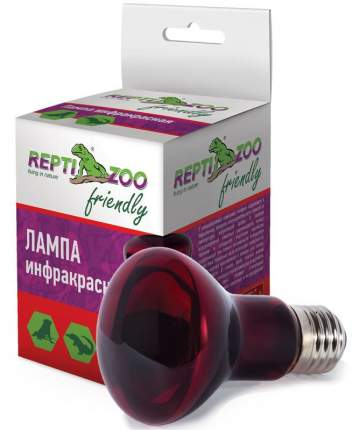 Инфракрасная лампа для террариума Repti-Zoo Friendly, 50 Вт