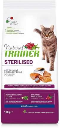 Сухой корм Trainer Natural Adult Sterilised для стерилизованных кошек 10 кг, Лосось