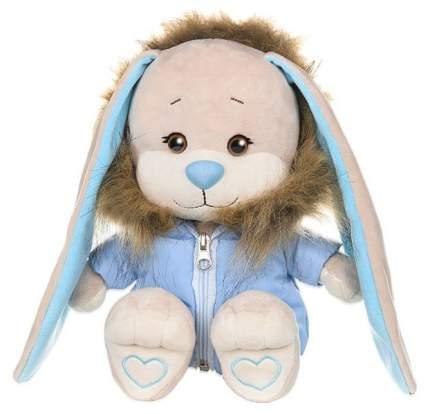 """Мягкая игрушка """"Зайка Жак"""" в голубой зимней куртке 25 см JL-051928-25 Jack and Lin"""