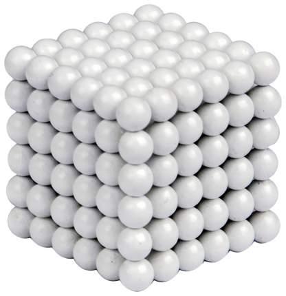 Куб из магнитных шариков Forceberg Белый 216 элементов