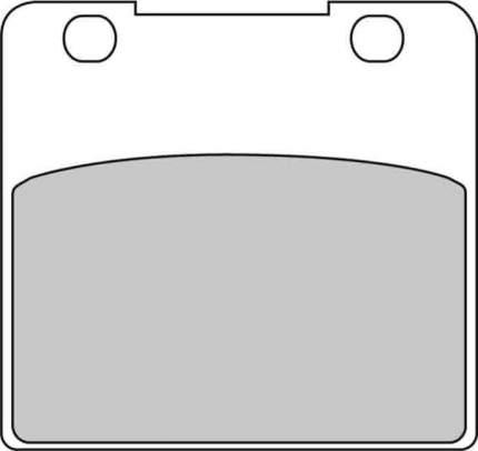 Тормозные колодки передние/задние Ferodo FDB389ST для мотоциклов