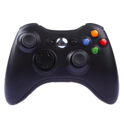 Геймпад 2emarket для Xbox 360, PS3 и PC 3882 Black