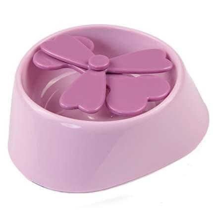 Миска для домашних животных Bobo, игровая, розовая, 350 мл