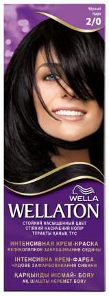 Краска для волос Wella Wellaton 2/0 черный 110 мл