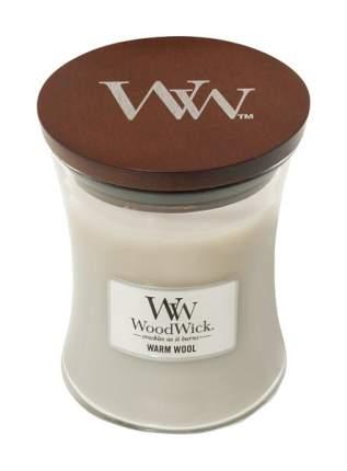 Ароматическая свеча WoodWick Шерсть 816-950 Серый