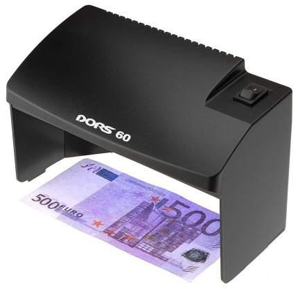 Детектор банкнот Dors 60 Черный (SYS-033278)