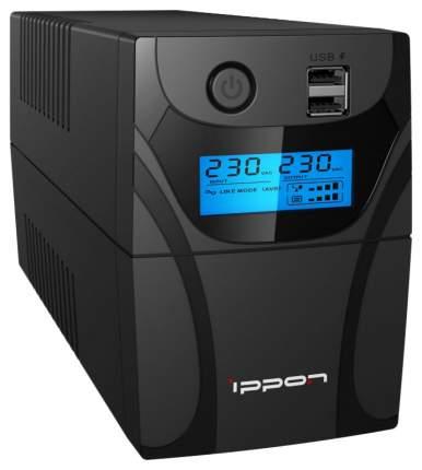 Источник бесперебойного питания Ippon Back Power Pro II 700 Black