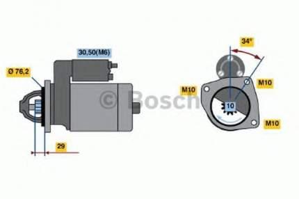 Стартер Bosch 0001107499