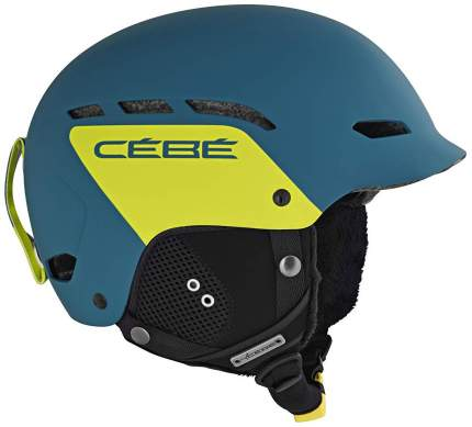 Горнолыжный шлем Cebe Dusk 2018, синий/желтый, S