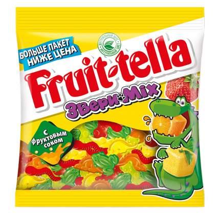 Мармелад Fruit-tella звери mix жевательный с натуральным фруктовым соком 150 г