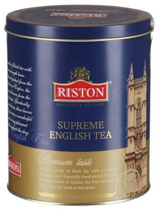 Чай черный Riston supreme english черный крупнолистовой 100 г