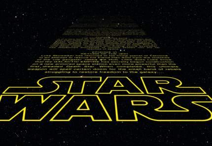 Фотообои бумажные Komar Star Wars 8-487
