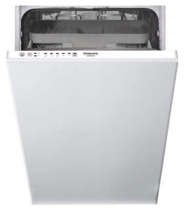 Встраиваемая посудомоечная машина 45 см Hotpoint-Ariston HSIE 2B0