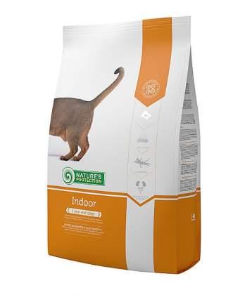 Сухой корм для кошек Nature's Protection INDOOR, для домашних, домашняя птица, 18кг