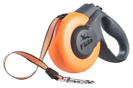 Поводок-рулетка Fida Mars 500см оранжевый