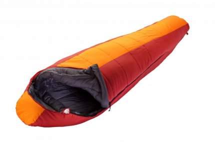 Спальный мешок Trek Planet Norge красно-оранжевый, левый