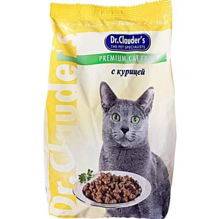 Сухой корм для кошек Dr.Clauder's Premium Cat Food, курица, 0,4кг