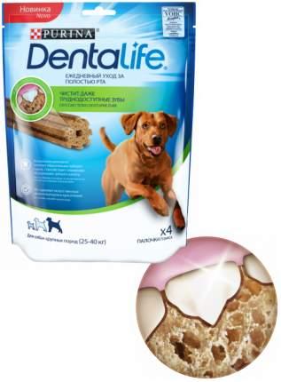 Лакомство Purina DentaLife для собак крупных пород, 142 г