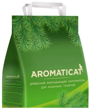 Впитывающий наполнитель туалета для кошек AromatiCat Древесный 10 л 6 кг