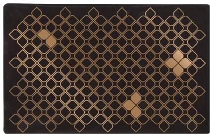 Коврик под миску Trixie для кошек коричнево-бронзовый 44x28 см