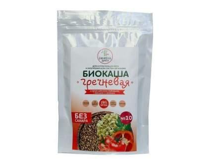 Биокаша №10 гречневая Сибирская Диета с пророщенными бобовыми, овощами и зеленью  220 г
